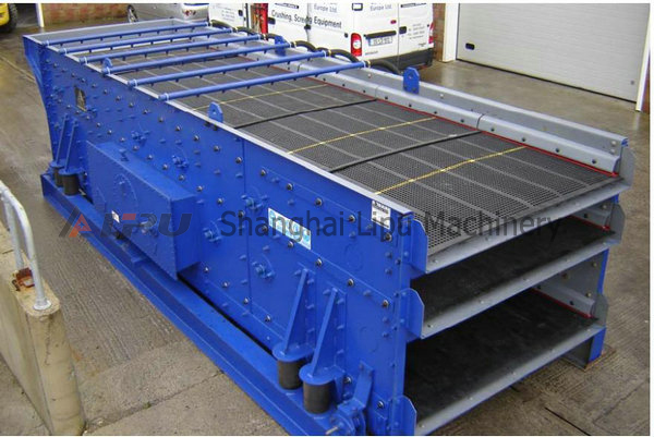 Sinter plant vibator screen
